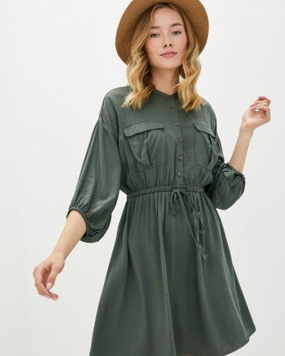 Зеленое платье Top Secret