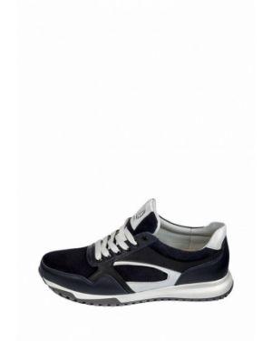 Кожаные кроссовки - синие My Day