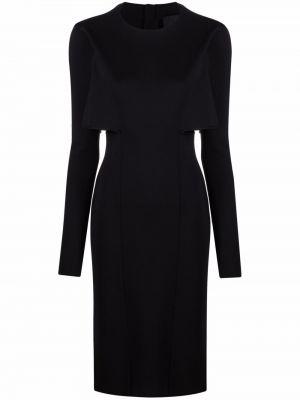 Sukienka z wiskozy - czarna Givenchy
