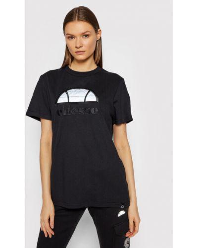 T-shirt - czarna Ellesse