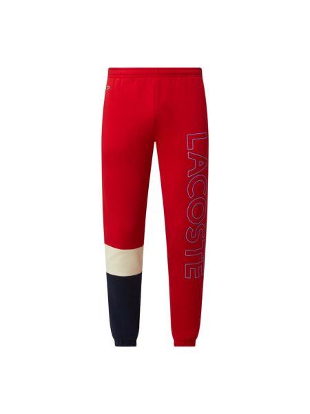 Spodnie dresowe bawełniane Lacoste