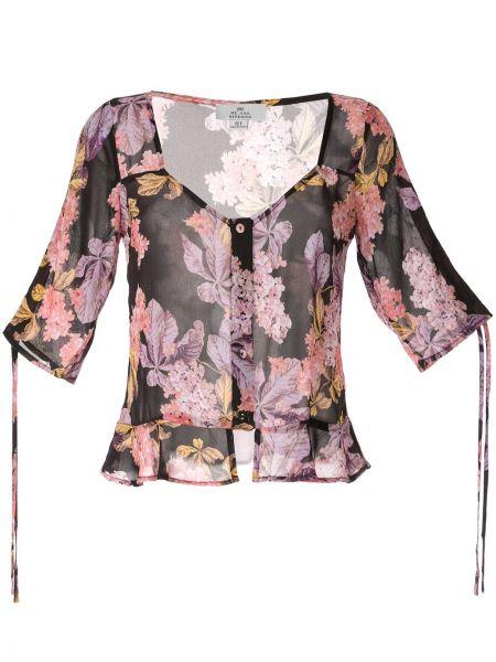 Блузка с баской с цветочным принтом We Are Kindred