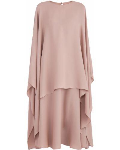 Платье на пуговицах с длинными рукавами Valentino