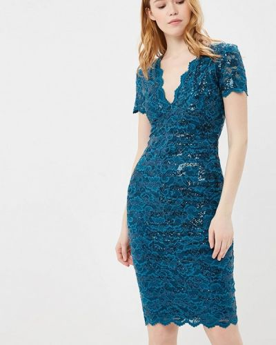 Бирюзовое платье Goddiva