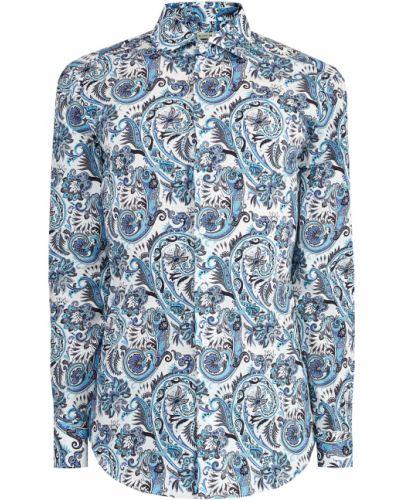 Рубашка с узором пейсли приталенная Etro