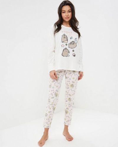 Пижама белый розовый Women'secret