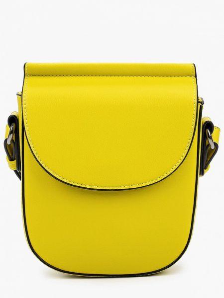 Кожаная сумка через плечо весенний Keddo