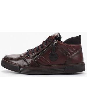 Высокие кроссовки коричневый Id! Collection