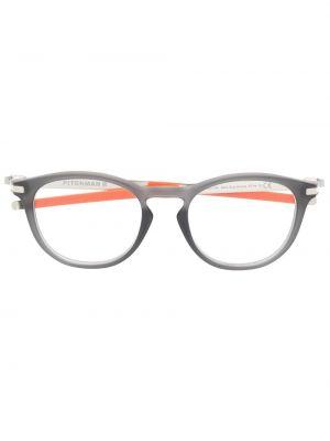 Pomarańczowe okulary Oakley