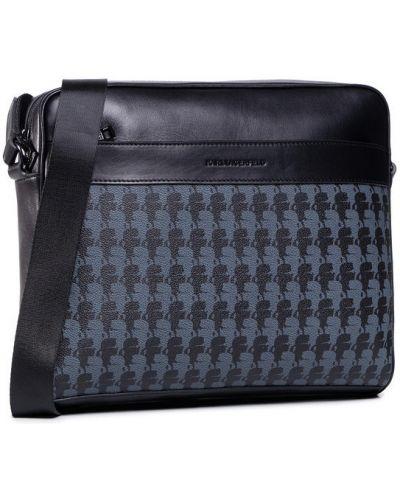 Czarny torba kosmetyczna Karl Lagerfeld
