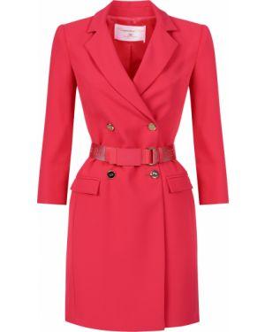 Розовое платье Elisabetta Franchi