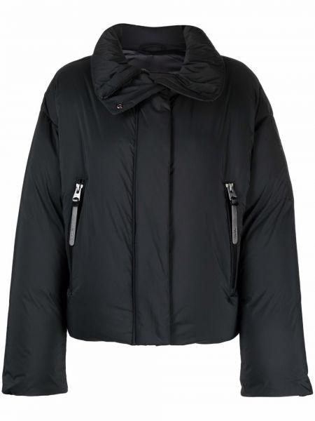 Черная куртка длинная Mackage