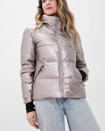 Теплая розовая утепленная куртка Fadjo