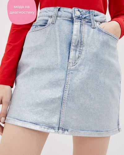 Джинсовая юбка Calvin Klein Jeans