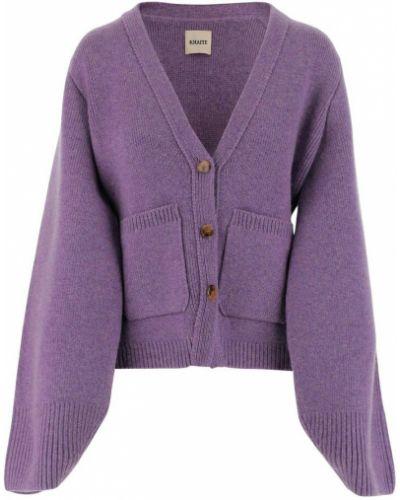Fioletowy sweter Khaite