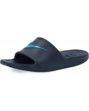 Облегченные спортивные синие шлепанцы для бассейна Nike