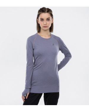 Спортивная футболка фиолетовый бесшовная Asics