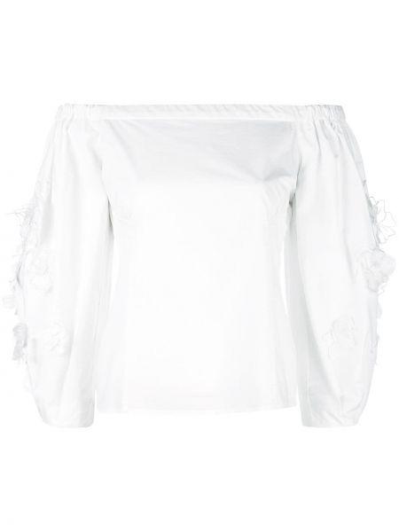 Топ белый с открытыми плечами Josie Natori