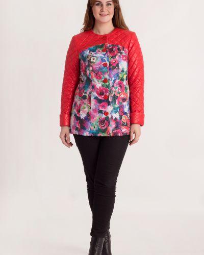 Утепленная куртка с цветочным принтом с принтом Lacywear