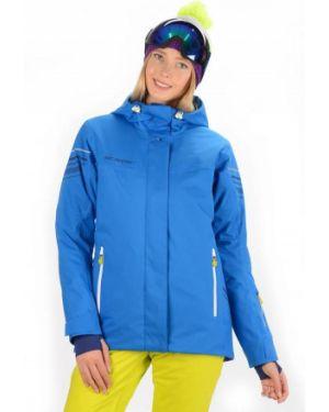 Куртка горнолыжная с капюшоном - синяя Stayer
