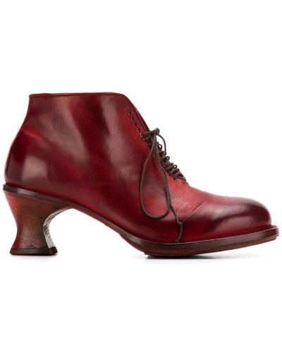 Ботинки на каблуке на шнуровке на каблуке Cherevichkiotvichki