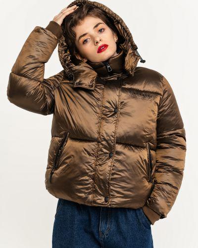 Дутая куртка - коричневая Befree