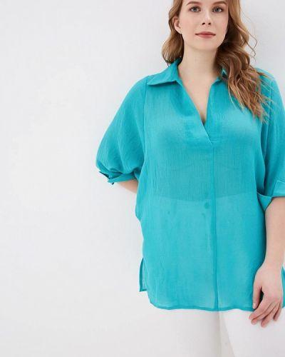 Блузка бирюзовая весенний Svesta