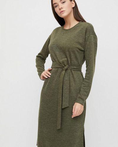Прямое зеленое платье Cardo