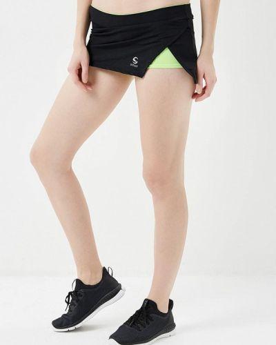 Юбка юбка-шорты черная Sitlly