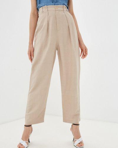 Повседневные бежевые брюки Rinascimento