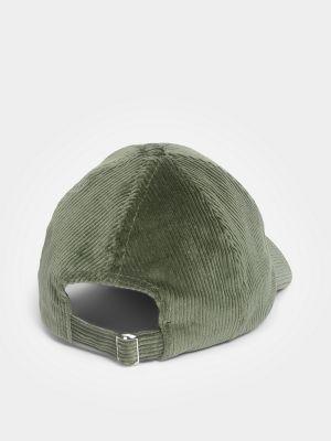 Джинсовая кепка - зеленая Marc O'polo Denim