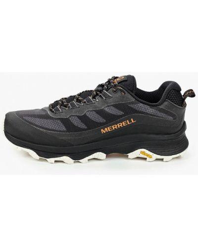 Кожаные черные кроссовки Merrell