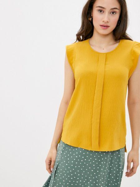 Блузка без рукавов весенний желтый Remix