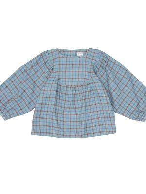 Bawełna bawełna niebieski bluzka Morley