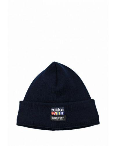 Синяя шапка осенняя Rukka