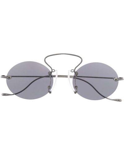 Черные солнцезащитные очки Uma Wang