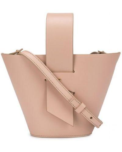 Розовая сумка-тоут Carolina Santo Domingo