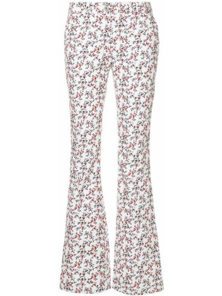 Брюки вельветовые - белые Ck Calvin Klein
