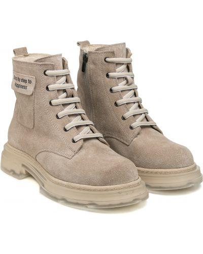 Ботинки - бежевые Guero