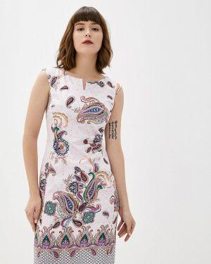 Платье прямое розовое Gerry Weber