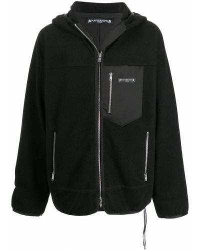 Czarna bluza z kapturem Mastermind World