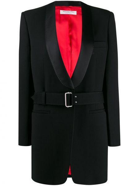 Пиджак черный приталенный Philosophy Di Lorenzo Serafini