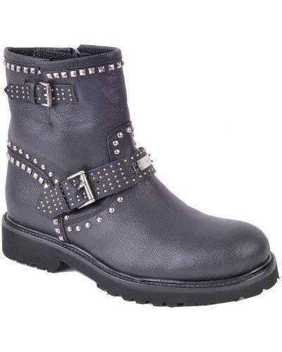 Ботинки на платформе кожаные осенние Richmond