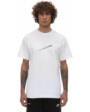 Biały t-shirt bawełniany Deadnight