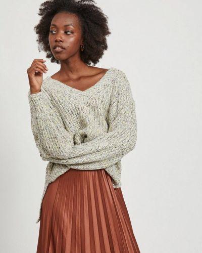 Серый пуловер Vila