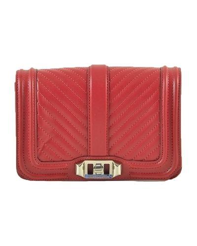 Czerwona torebka pikowana Rebecca Minkoff