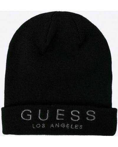 Черная шляпа Guess Jeans