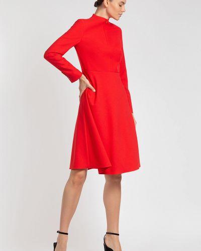 Платье миди на пуговицах платье-пиджак Vassa&co