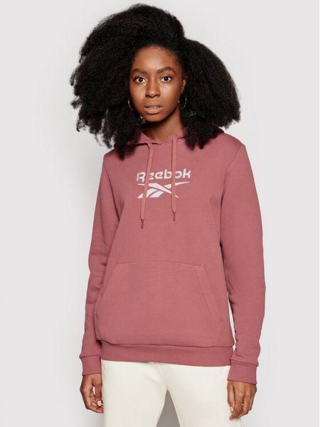 Bluza oversize - różowa Reebok Classic