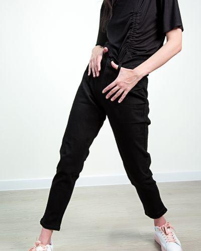 Черные весенние джинсы Denim